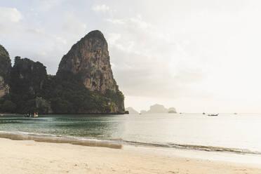 Rock at the beach of Railay, Krabi, Thailand - CHPF00614
