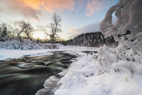 River in winter - JOHF07801