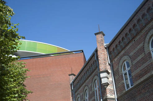 ARoS Aarhus Kunstmuseum with installation of Olafur Eliasson, Aarhus, Denmark - GISF00520