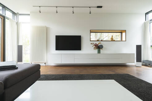 Modern living room in design house - SBOF02084