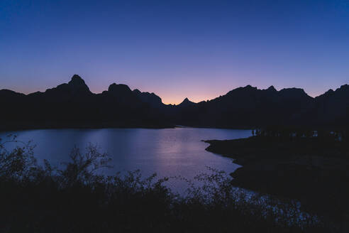 Riano reservoir in the evening, Leon, Spain - DGOF00447