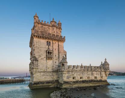 Tower of Belem in Lisbon, Portugal - CAVF76661