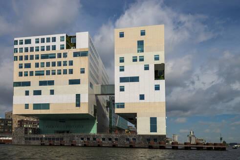 Justitzpalast, Westerdoksluis, Amsterdam, Provinz Nordholland, Niederlande, - LBF03016