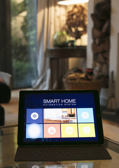 Smart home automation system on digital tablet - CAIF26173