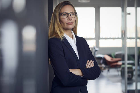 Portrait of confident businesswoman in office - RBF07507
