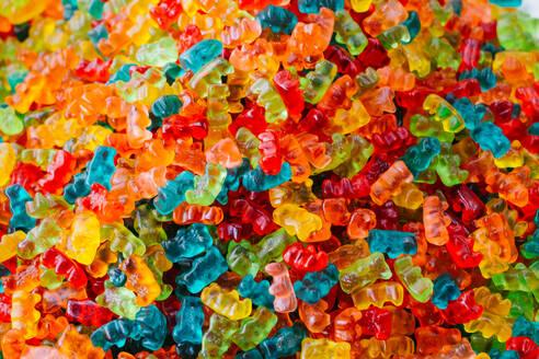 Full Frame Shot Of Gummy Bears - EYF03934