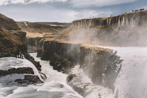 Iceland, Gullfoss waterfall in summer - DAMF00365