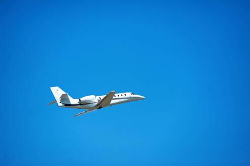 KHARKOV, UKRAINE - AUGUST 24, 2018. Take-off and landing of passenger - CAVF80146