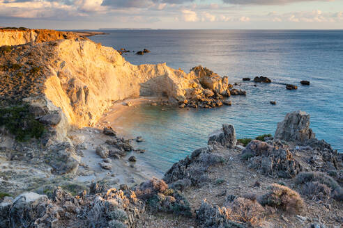 Coastal landscape near Kalo Nero village in southern Crete. - CAVF80176