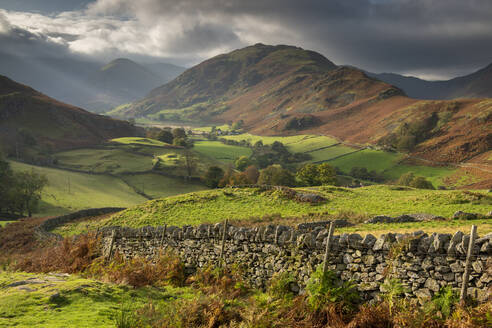 Beautiful lakeland countryside in Martindale, Lake District National Park, UNESCO World Heritage Site, Cumbria, England, United Kingdom, Europe - RHPLF14673