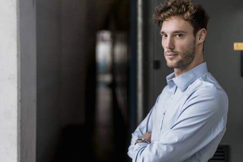 Portrait of a confident young businessman - DIGF10649