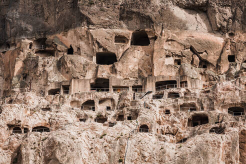 Georgia, Samtskhe-Javakheti, Vardzia cave monastery - WVF01655