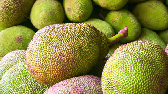 Full Frame Shot Of Jackfruits For Sale At Market - EYF07347