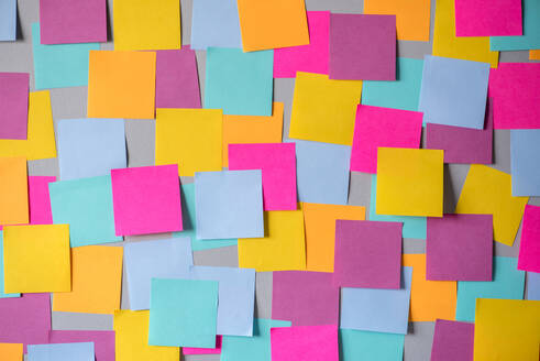Full Frame Shot Of Colorful Adhesive Notes - EYF08691