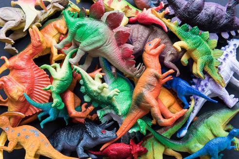 Full Frame Shot Of Animal Toys For Sale At Market - EYF09236