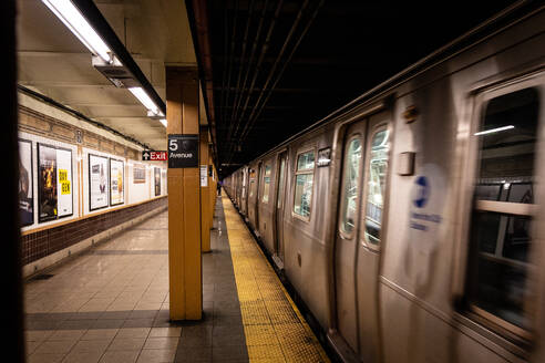 New York subway, New York, United States of America, North America - RHPLF16239