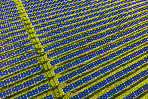 Aerial view ofsolar power station - WDF06132