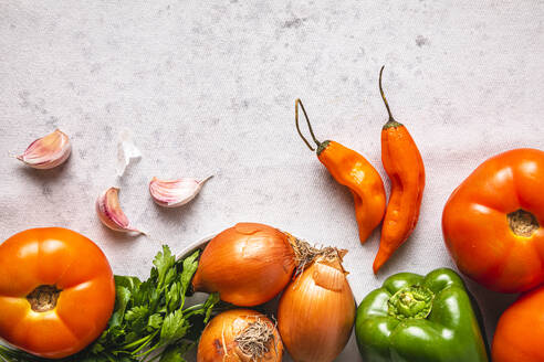 Studio shot of ripe vegetables - FLMF00268