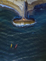 Two kayakers at Sanur, Bali,Indonesia - KNTF05107