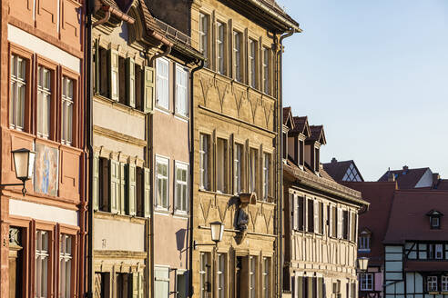 Deutschland, Bayern, Franken, Bamberg, Altstadt, historische Häuser, Hausfassaden - WDF06157