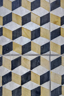 Tiles with cubic pattern - NGF00650