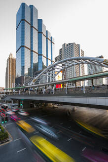Chong Nonsi pedestrian bridge in Bangkok's Sathorn area - CAVF90761