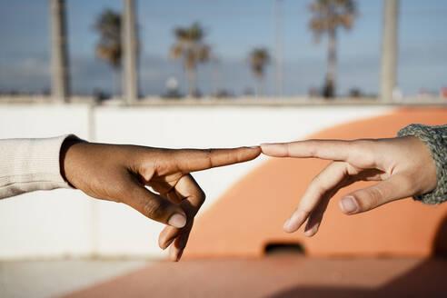 Spain, Valencian Community, Valencia. Portraits of happy women friends - RCPF00565