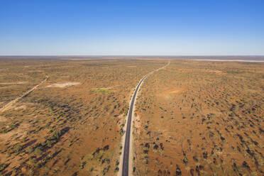 Australia, South Australia, Aerial view of Stuart Highway - FOF12110
