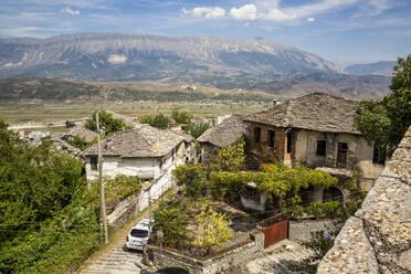 Town at Mali I Gjere, Gjirokaster, Albania - MAMF01637
