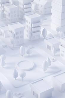 Paper White 3D City - JPSF00076