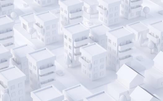 Paper White 3D City - JPSF00079