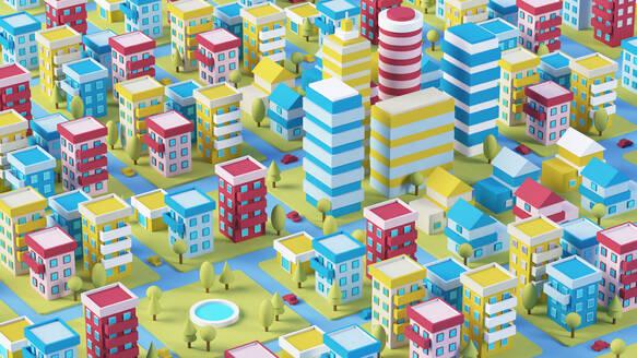 Cartoon city 3D - JPSF00082