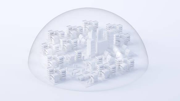 Paper White 3D City - JPSF00085